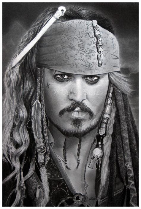Johnny Depp by ValerieVally